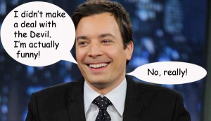 Jimmy Fallon devil